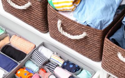 Cómo ordenar el armario de tus hijos