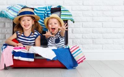 10 consejos para hacer la maleta de tus hijos